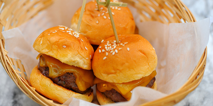 Wagyu Sliders from Privé Clarke Quay in Clarke Quay, Singapore