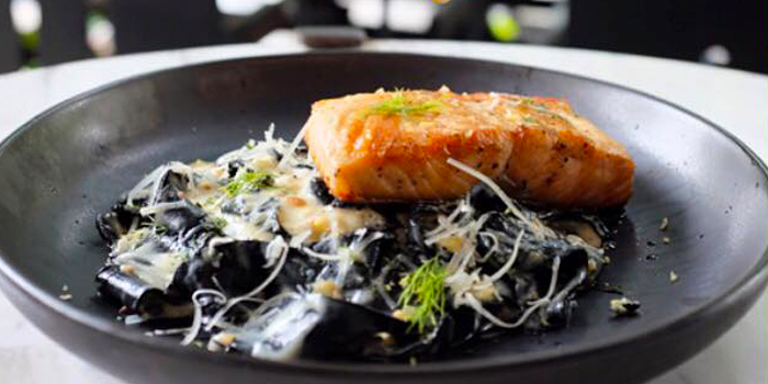 Salmon from Bitterman Handcrafted Cuisine in Silom, Bangkok