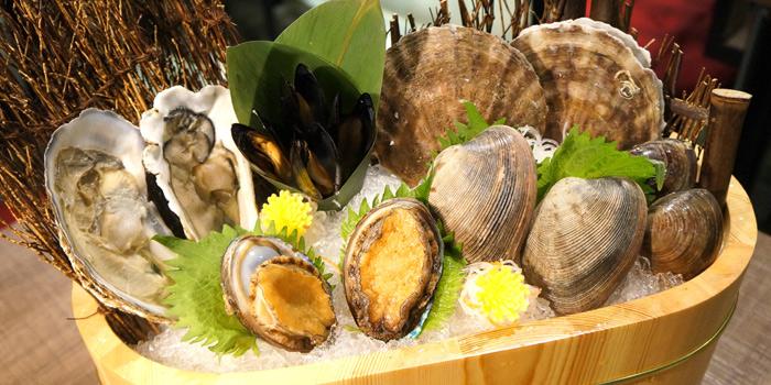 Seafood Platter, Volcano Grill, Causeway Bay, Hong Kong