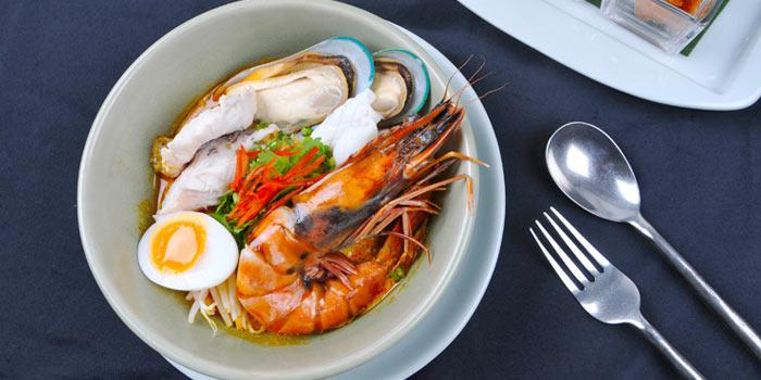 Seafood Soup form Celadon at The Sukhothai Bangkok in Sathorn, Bangkok