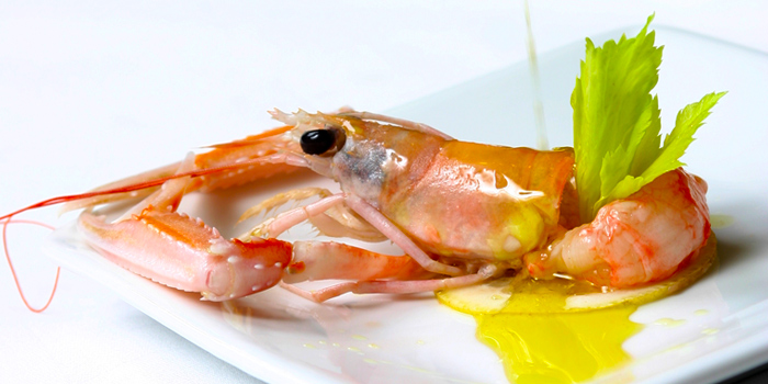 Shrimp from Gianni Ristorante in Ploenchit, Bangkok