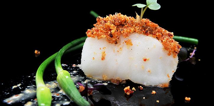 Fish Dish from NOX - Dine in the Dark in Bugis, Singapore