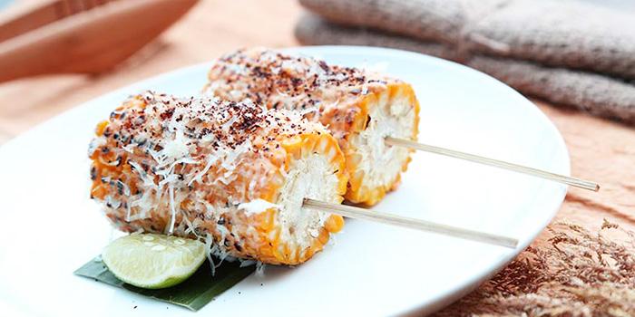 Grilled Corn from Barbacoa in Seminyak, Bali