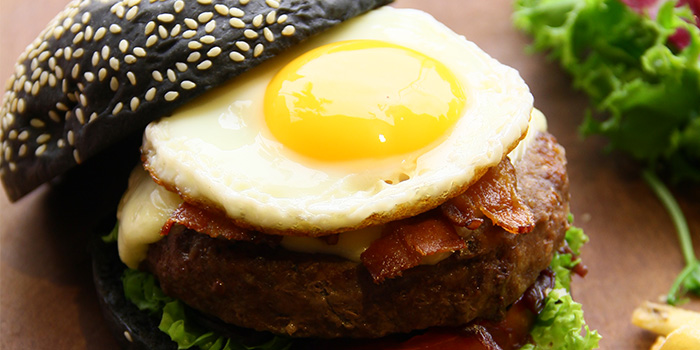 Beef Burger from The Square @ Furama at Furama RiverFront in Outram, Singapore