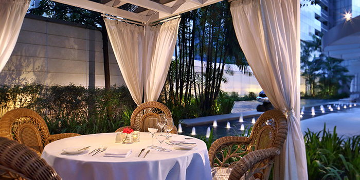 Cabana Dining at LaBrezza at The St. Regis Singapore in Tanglin, Singapore