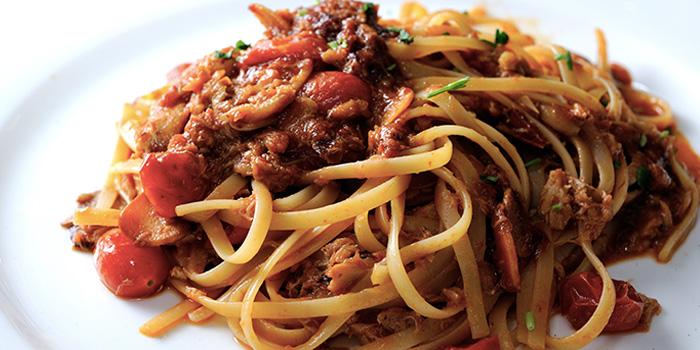 Linguine Granchio from Capri Trattoria & Pizzeria in Bukit Timah, Singapore