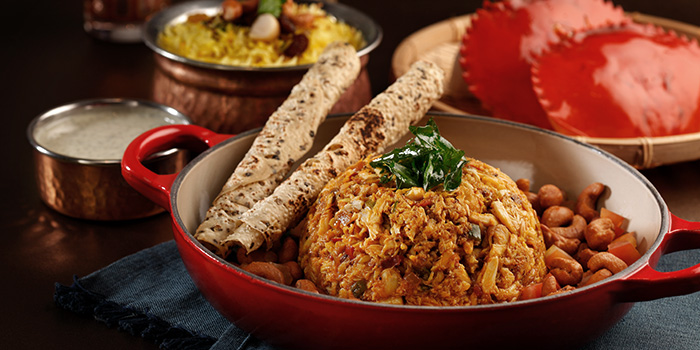 Crab Meat Masala from Casserole in Sentosa, Singapore