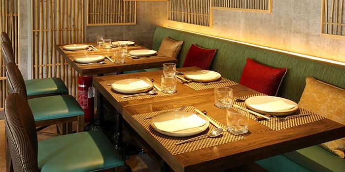 Dining Area of Mint & Basil, Sai Wan Ho, Hong Kong
