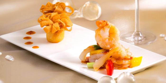 Eel Spring Roll and Minced Shrimp, Ming Court, Mongkok, Hong Kong