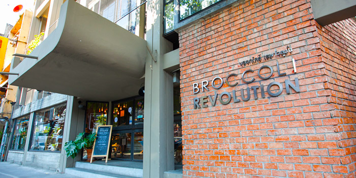 Exterior of Broccoli Revolution in Thonglor, Bangkok