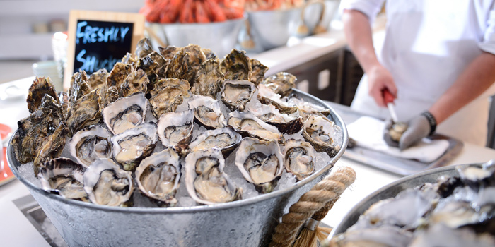 Freshly Oysters, The Place, Mongkok, Hong Kong
