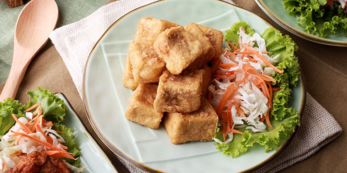 Fried Beancurd from GREAThai (East Village) in Changi, Singapore