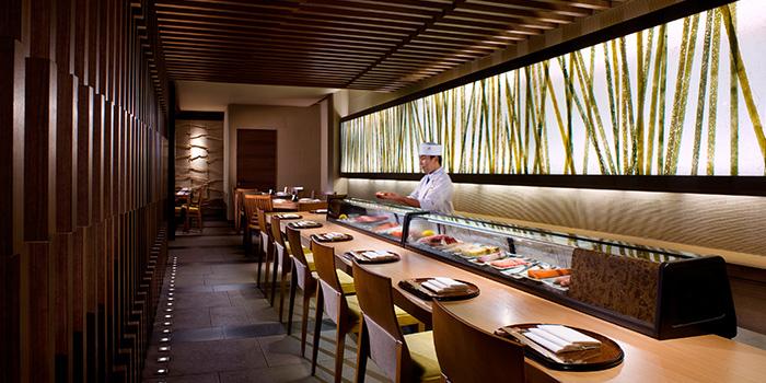 Sushi Bar in Keyaki in Pan Pacific Singapore in Promenade, Singapore
