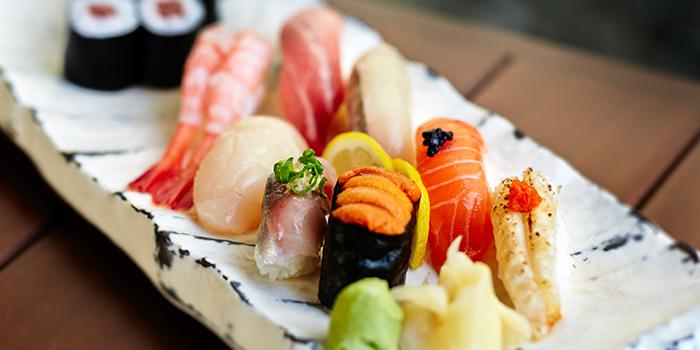 Sushi from Keyaki in Pan Pacific Singapore in Promenade, Singapore