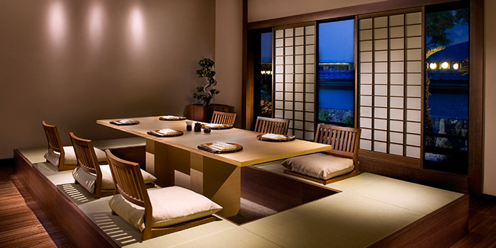 Tatami Room in Keyaki in Pan Pacific Singapore in Promenade, Singapore