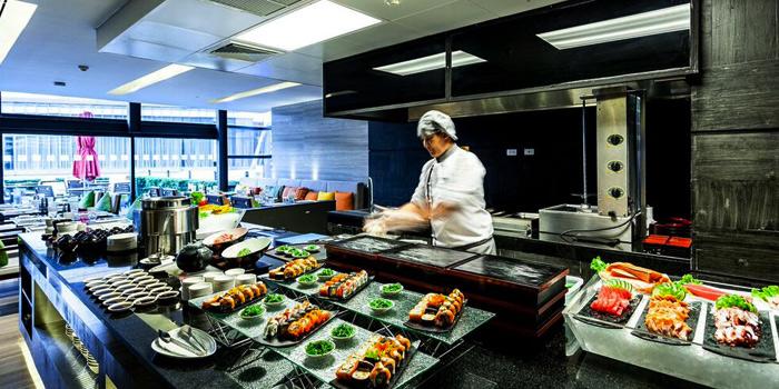 Kitchen from Zeta Cafe at Holiday Inn Sukhumvit, Bangkok