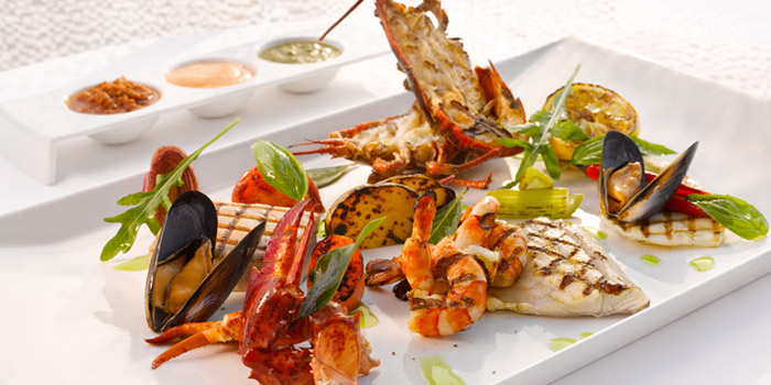Mediterranean Seafood Barbecue from LaBrezza at The St. Regis Singapore in Tanglin, Singapore