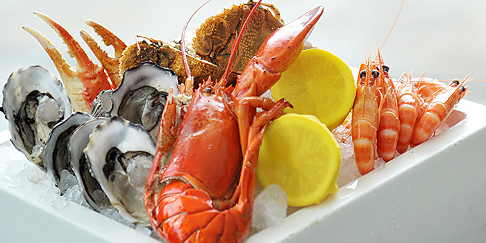 Seafood Platter from Marriott Cafe at Marriott Tang Plaza Hotel in Orchard, Singapore