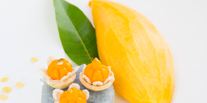 Mango with Sticky Rice from Suan Bua Thai Restaurant at Central Plaza Ladprao, Bangkok