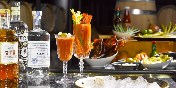 Bloody Mary Cart from Manhattan in Regent Singapore, Tanglin, Singapore