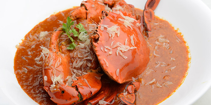 Pomelo Crab from Blue Lotus @ Sentosa Cove in Sentosa, Singapore