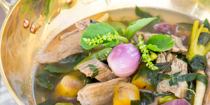 Soup from Suan Bua Thai Restaurant at Central Plaza Ladprao, Bangkok