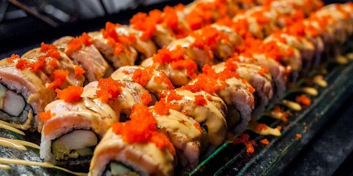 Sushi from Zeta Cafe at Holiday Inn Sukhumvit, Bangkok