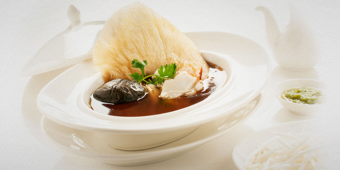 Signature Soup from TAO Seafood Asia in Asia Square in Raffles Place, Singapore