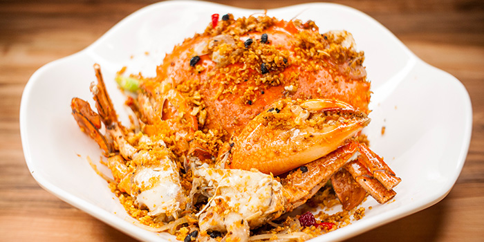 Crab from Uncle Leong Signatures (Waterway Point) in Punggol, Singapore