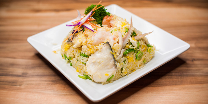Seafood Fried Rice from Uncle Leong Signatures (Waterway Point) in Punggol, Singapore