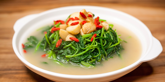 Vegetable from Uncle Leong Signatures (Waterway Point) in Punggol, Singapore