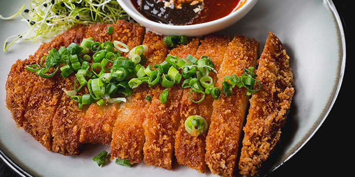 Pork Katsu from WANTON in Chinatown, Singapore