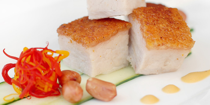 Crispy Pork Belly from Wan Hao Chinese Restaurant at Marriot Tang Plaza Hotel in Orchard, Singapore