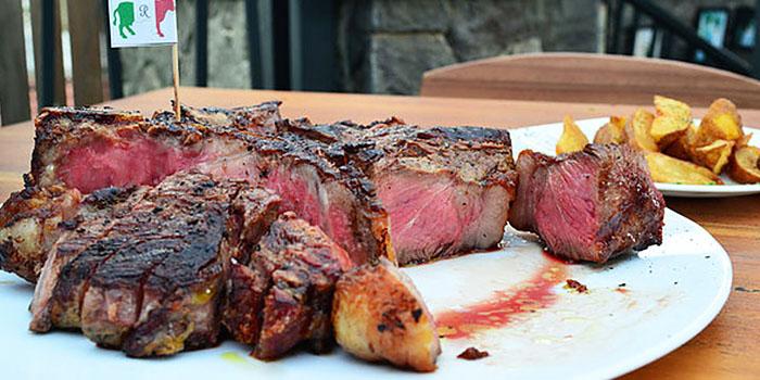 Steak from Mamma Rosy in Kemang, Jakarta