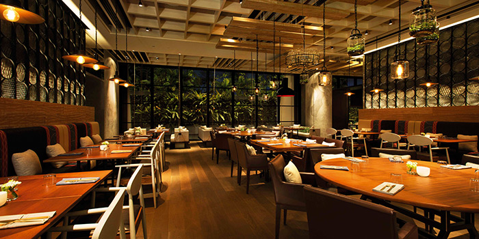 Dining Room of Adrift by David Myers at Marina Bay Sands in Marina Bay, Singapore