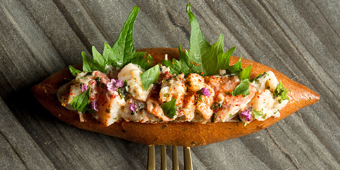 Lobster Roll from Adrift by David Myers at Marina Bay Sands in Marina Bay, Singapore