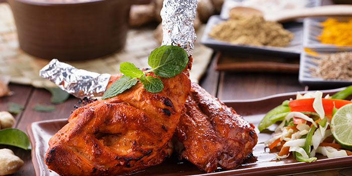 Chicken from Atithi Indian Contemporary Resto & Bar in Kuta, Bali