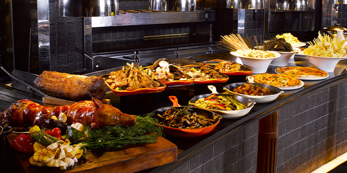 Hot Food Station from Basilico in Regent Singapore in Tanglin, Singapore