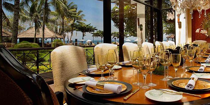 Dining Area of Bella Cucina in Jimbaran, Bali