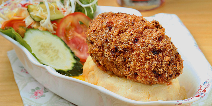 Chicken Kiev, Wheatfield Kitchen, Causeway Bay, Hong Kong