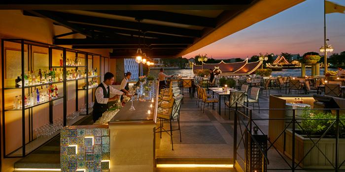 Dining Area from Ciao Terrazza at at the Mandarin Oriental, Bangkok