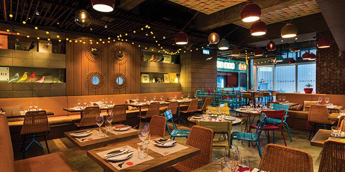 Dining Area, La Paloma, Sai Ying Pun, Hong Kong
