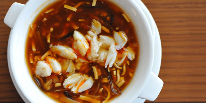 Hot & Sour Soup from EMPRESS in City Hall, Singapore