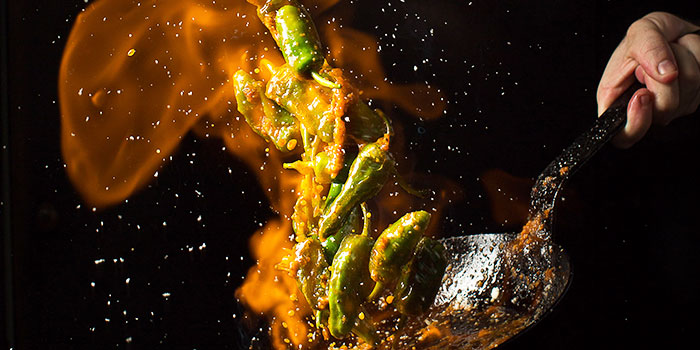 Padron Peppers from Esquina in Chinatown, Singapore