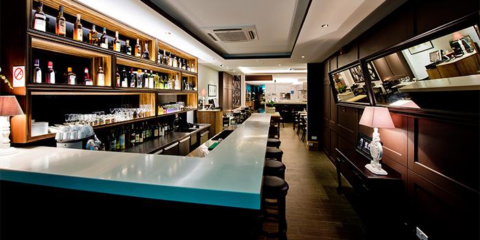 Bar of Fleur de Sel Le Restaurant in Tanjong Pagar, Singapore