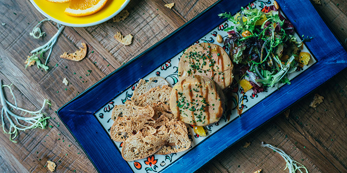 Foie Gras with Orange Salad and Toasts, La Paloma, Sai Ying Pun, Hong Kong