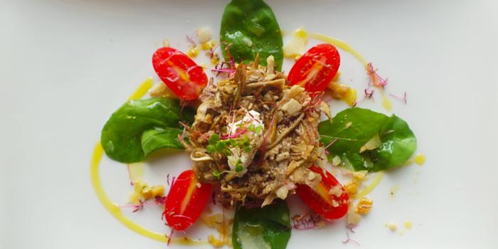 Fresh Artichoke and Goat Cheese Salad from Galleria Milano in Sukhumvit Soi 20, Bangkok
