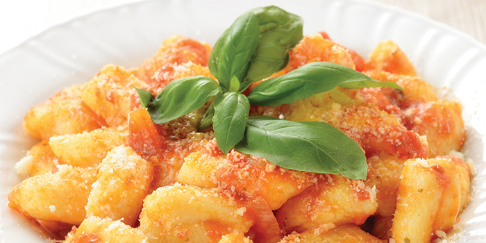 Gnocchi from Burlamacco Ristorante on Stanley Street in Telok Ayer, Singapore