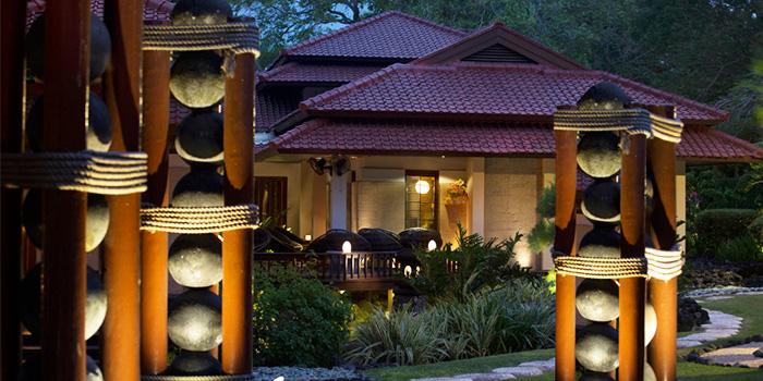 Exterior of KO Japanese Restaurant in Jimbaran, Bali