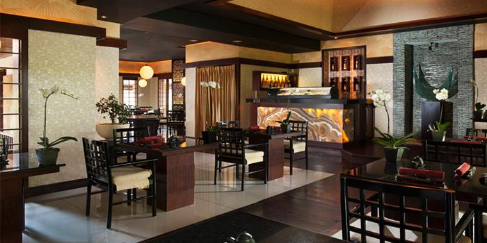 Interior of KO Japanese Restaurant in Jimbaran, Bali
